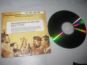 The Soundtrack of our lives Believe Ive found CDS 2 spår 2004 VG