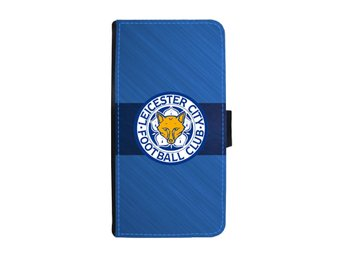 Leicester City iPhone X Plånboksfodral