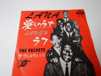 The Velvets - Lana / Laugh --- Japan Press --- GREAT!!