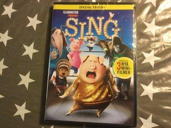 Sing. Ny inplastad - Perstorp - 1 h 44 min. Från 2016. Innehåller 3 nya minifilmer - Perstorp