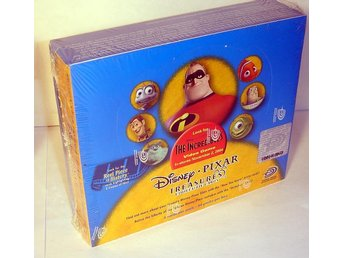 WALT DISNEY PIXAR TREASURES  NY ORGINALINPLASTAD BOX !!!!!