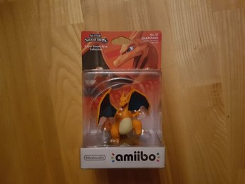 Nintendo Amiibo. Super Smash Bros Collection - Charizard. Ny