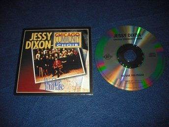 Jessy Dixon - We give you praise  CD  1986