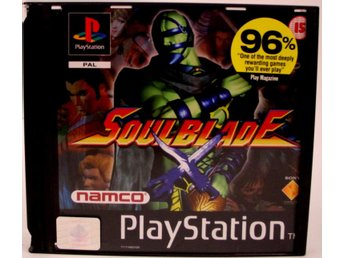 Soulblade - PS1 - PAL (EU)