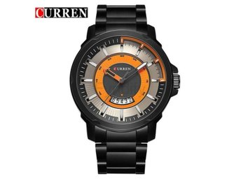 Klocka Herr New Top Brand Luxury Men black orange