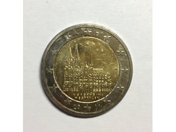 2 euro coin - Cologne Cathedral (North-Rhine Westphalia) - Germany, 2011