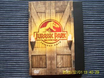 DVD - Jurassic park 1-3 box (3-disc)