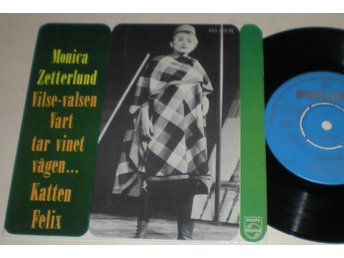 Monica Zetterlund EP/PS Vilse-Valsen 1962