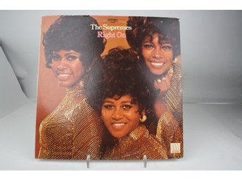 LP -THE SUPREMES-RIGHT ON-1972