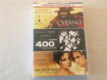Franska filmpärlor 2 - Cyrano de Bergerac - De 400 slagen - The Horseman on... - Trollhättan - Franska filmpärlor 2 - Cyrano de Bergerac - De 400 slagen - The Horseman on... - Trollhättan