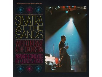 Frank Sinatra - At The Sands - CD - 1966 - Nyskick