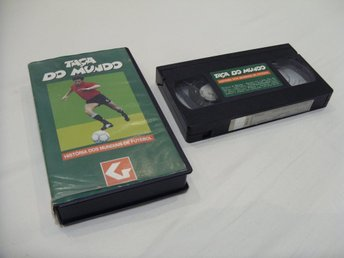 Taca Do Mundo History of Fotboll & Soccer VHS PAL Portugal