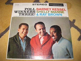THE POLL WINNERS THREE! (Barney Kessel) på Contemporary Rec S7576
