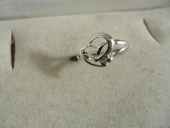 RING I 925 STERLING SILVER STL. 17 MM (R36). - Solna - RING I 925 STERLING SILVER STL. 17 MM (R36). - Solna