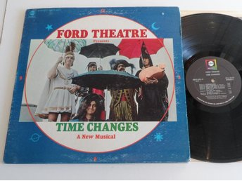Ford Theatre - Time Changes - USA - LP -Psych Progg FolkRock