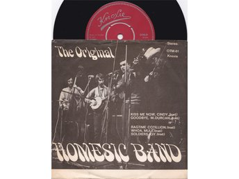 "The Original Homesic Band ""Kiss me now,Cindy"" 7"""