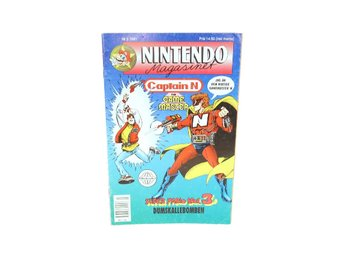 Nintendo Magasinet Nr 3 1991 med Power Play bilaga
