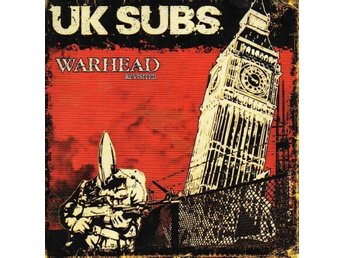 "UK Subs - Warhead revisited (10"") - oi, skinhead, punk"