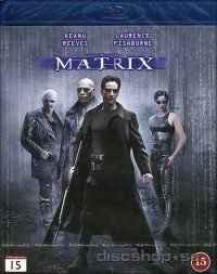 Matrix (Blu-ray)-Keanu Reeves och Laurence Fishburne