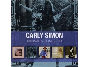 Simon Carly: Original album series 1971-75 (5 CD)