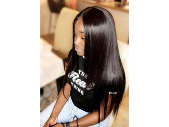 full lace wig! 100% äkta human hair brazilien.
