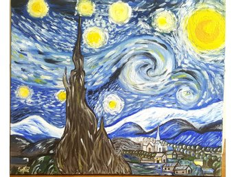The Starry Night Tavla