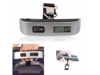 Våg 0.01kg-50kg Electronic Weighing Hanging Fiske Luggage Hand Scale EU-lager
