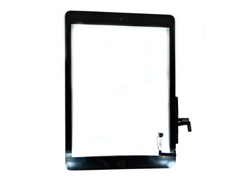 Displayglas & Touch display till iPad Air - Svart