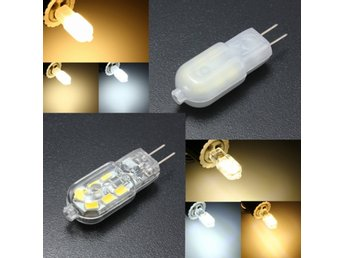 G4 Base 2W 12SMD LED Warm/Cool/Natural White Light Lamp B...