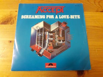 "Accept - Screaming For A Love Bite / Wrong Is Right 7"" 1985"