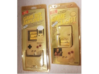 Gameboy Standard tillbehör - Game light & Amplifier