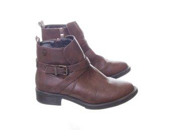 Gyllene Gripen, Boots, Strl: 37, Brun, Skinn