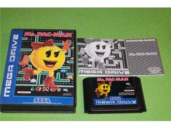 Ms. Pac-Man SVENSK UTGÅVA Sega Megadrive - Ekerö - Ms. Pac-Man SVENSK UTGÅVA Sega Megadrive - Ekerö