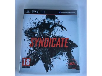 Syndicate - Playstation 3/PS3 - FINT SKICK! - Komplett