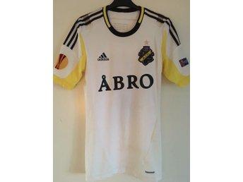 AIK Matchtröja Europa League borta 2012 #7 Helgi Danielsson - Small - Solna - AIK Matchtröja Europa League borta 2012 #7 Helgi Danielsson - Small - Solna