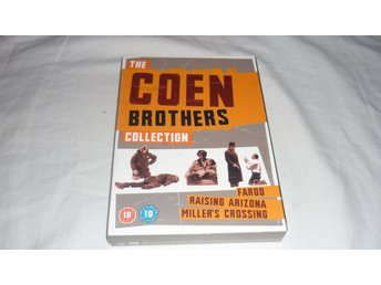 The Cohen brothers collection - 3 Filmer - Svensk text på 2