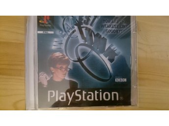 Weakest link Playstation 1 PS1 PAL