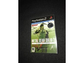Metal Gear Solid 3 Subsistence Sony Playstation 2 PS2 PAL