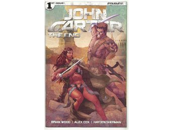 John Carter: The End # 1 Cover C NM Ny Import