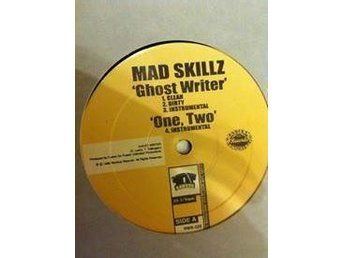 "Mad Skillz - Ghost Writer/ Together/ One Two 12"" vinyl singel hip hop rap"