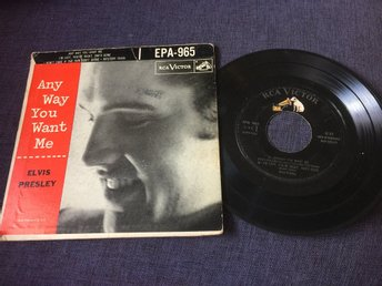 Elvis Presley Ep. Any way you want me.
