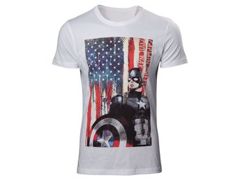 T-Shirt - Marvel - Captain America - Civil War - XL