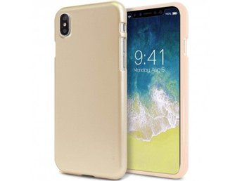 Mercury Jelly Case Apple iPhone X Färg: Guld