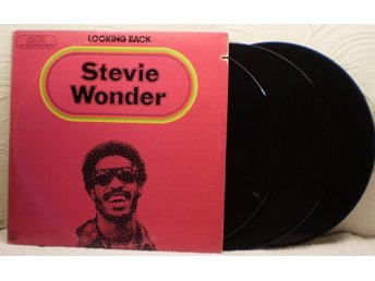 STEVIE WONDER - LOOKING BACK - TRIPPEL-LP