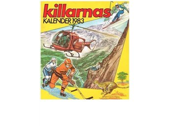 KILLARNAS KALENDER 1983 (14) Sport mm