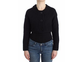 Galliano - Black cropped cardigan