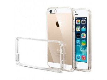 iPhone 5/5S/SE Ultratunn TPU Skal Simple® Färg: Transparent