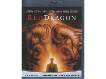 Röd drake - Red Dragon (Anthony Hopkins) 2002 - Blu-Ray
