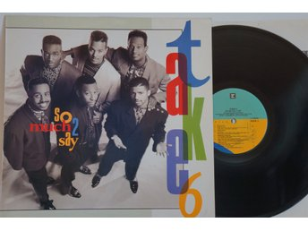Take 6 ?– So Much 2 Say EUROPE 1990 LYRIC SLEEVE FINT SKICK