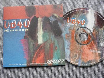 UB40 - Tell me is it true CD Singel (Pappfodral) Speed 2 Motion Film Soundtrack